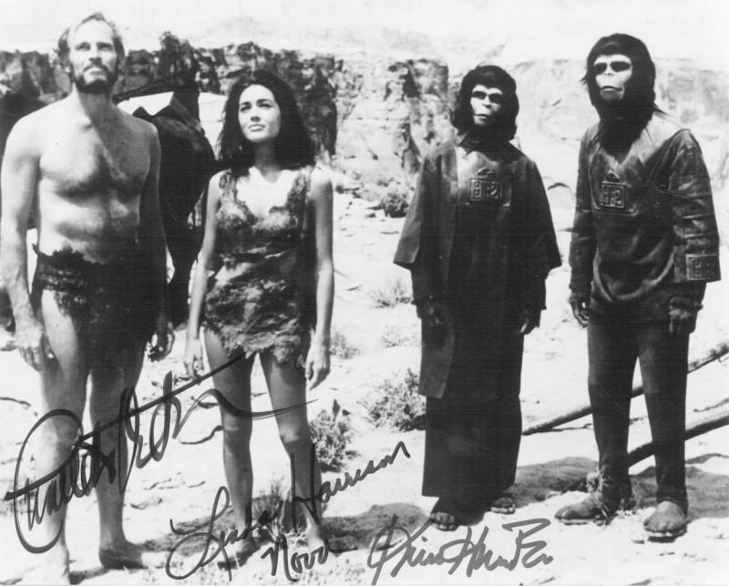 Charlton Heston, Kim Hunter, Li...