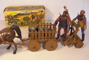 Mego Catapult and Wagon