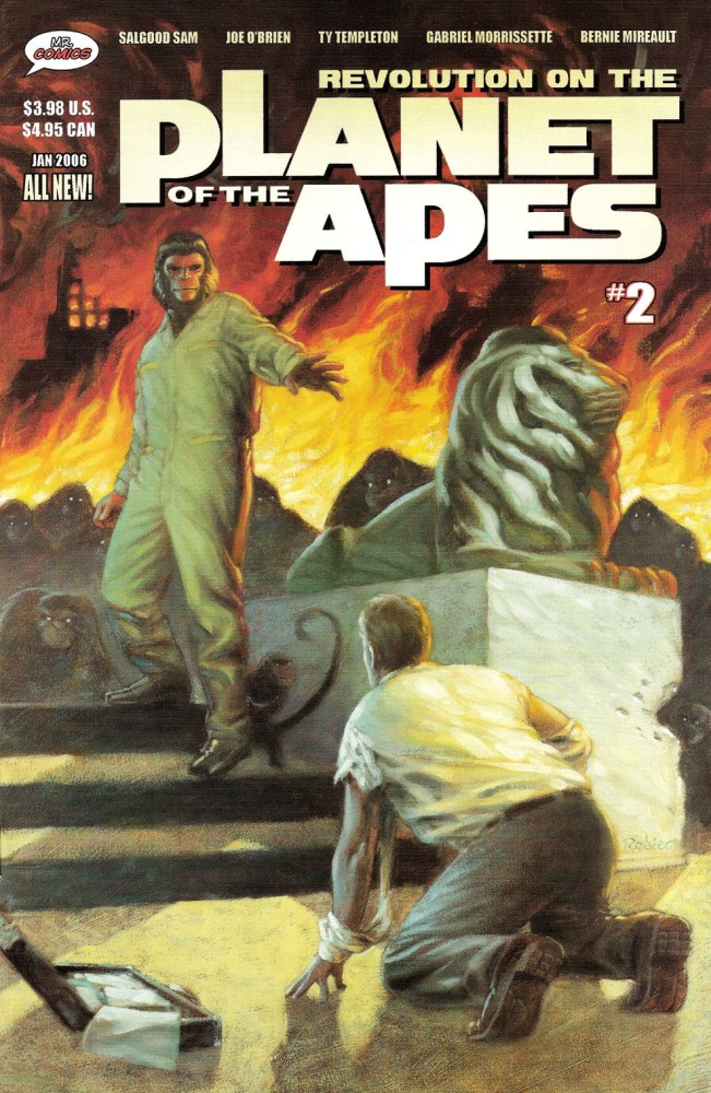 Revolution on the Planet of the Apes Comics