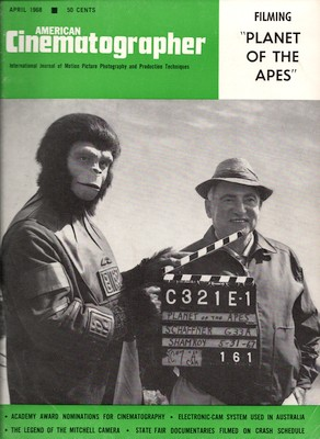 American Cinematographer, April 1968