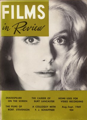 Films in Review, August-September 1969