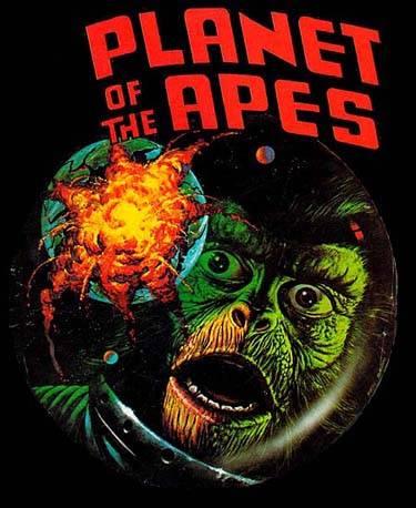 planet of the apes fan art